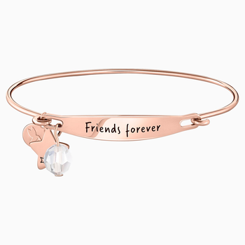 Friends Forever ID Bangle - Rosegold