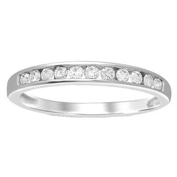 14K  0.27Ct Diamond Ladies  Band
