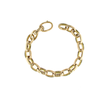 18Kt Yellow Gold Link Bracelet