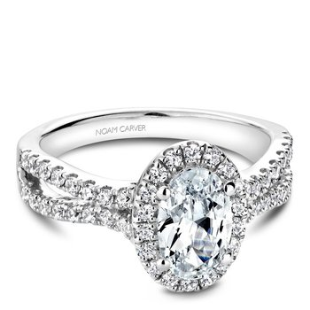 Noam Carver Fancy Engagement Ring B215-01A