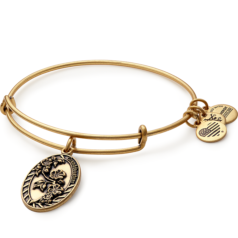 Alex and Ani BECAUSE I LOVE YOU, GRANDDAUGHTER II, EWB