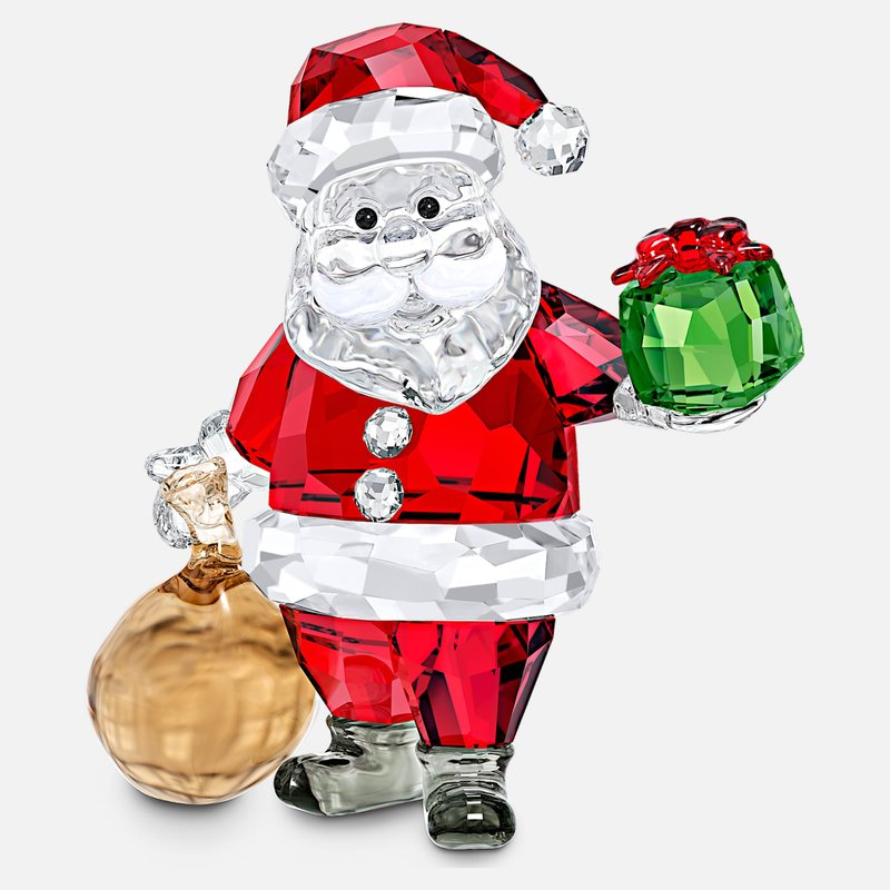 Swarovski Santa Claus with Gift Bag