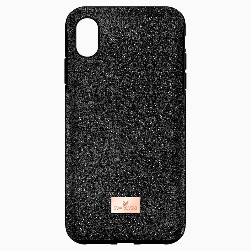 Swarovski High Smartphone Case with Bumper, iPhone® XS Max, Black