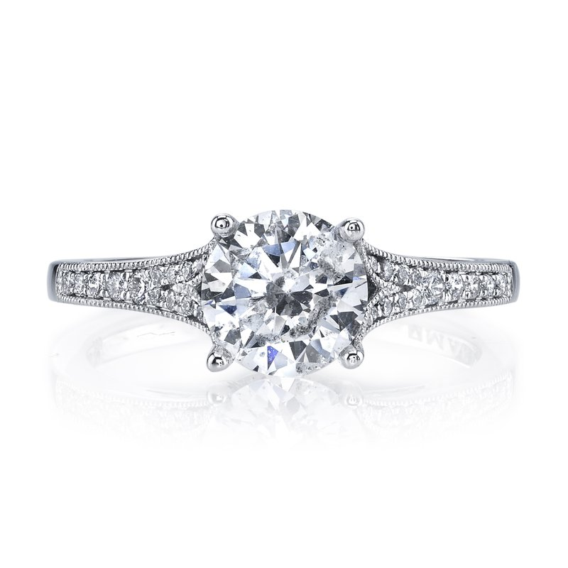 MARS Jewelry MARS 25330 Diamond Engagement Ring 0.17 Ctw.