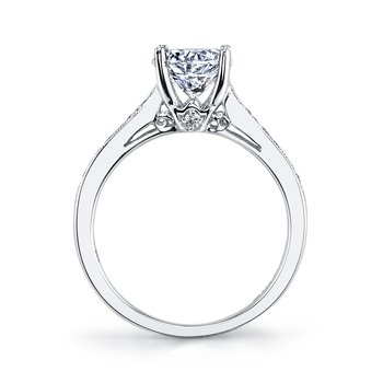 MARS 25330 Diamond Engagement Ring 0.17 Ctw.