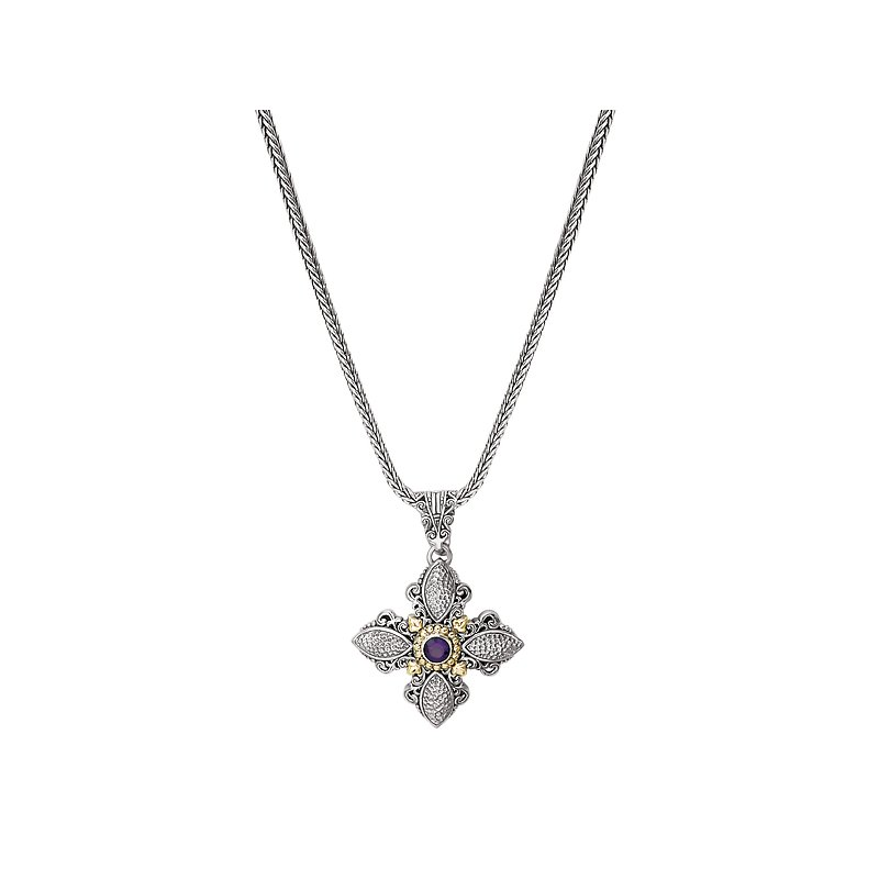 Eleganza Ladies Fashion Cross Necklace