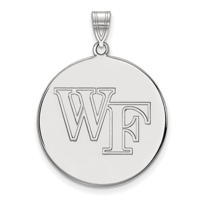 NCAA Sterling Silver Wake Forest University NCAA Pendant