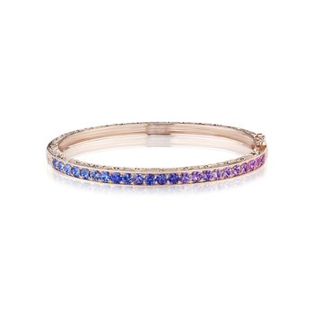 Engraved Watercolor Bangle