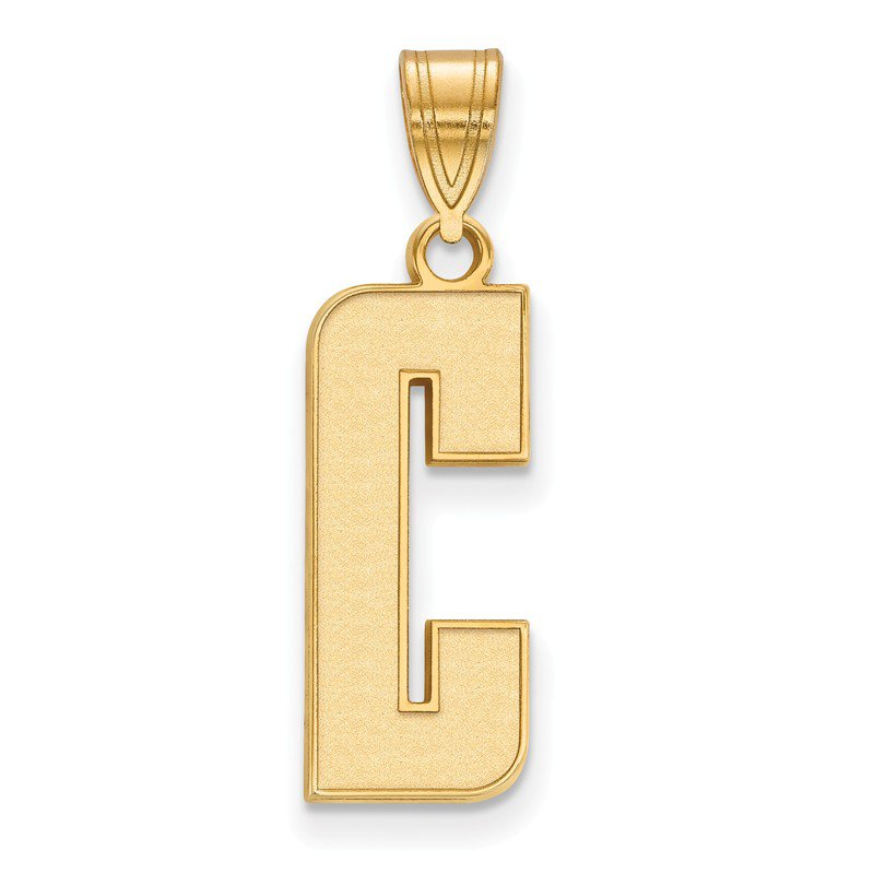 NCAA Gold-Plated Sterling Silver University of California Berkeley NCAA Pendant