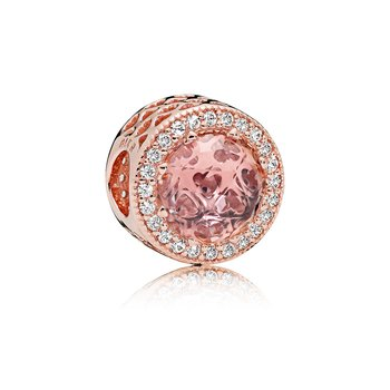 Radiant Hearts, Pandora Rose™  Blush Pink Crystal
