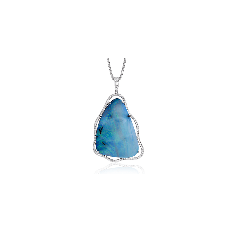 Simon G TP326 COLOR PENDANT
