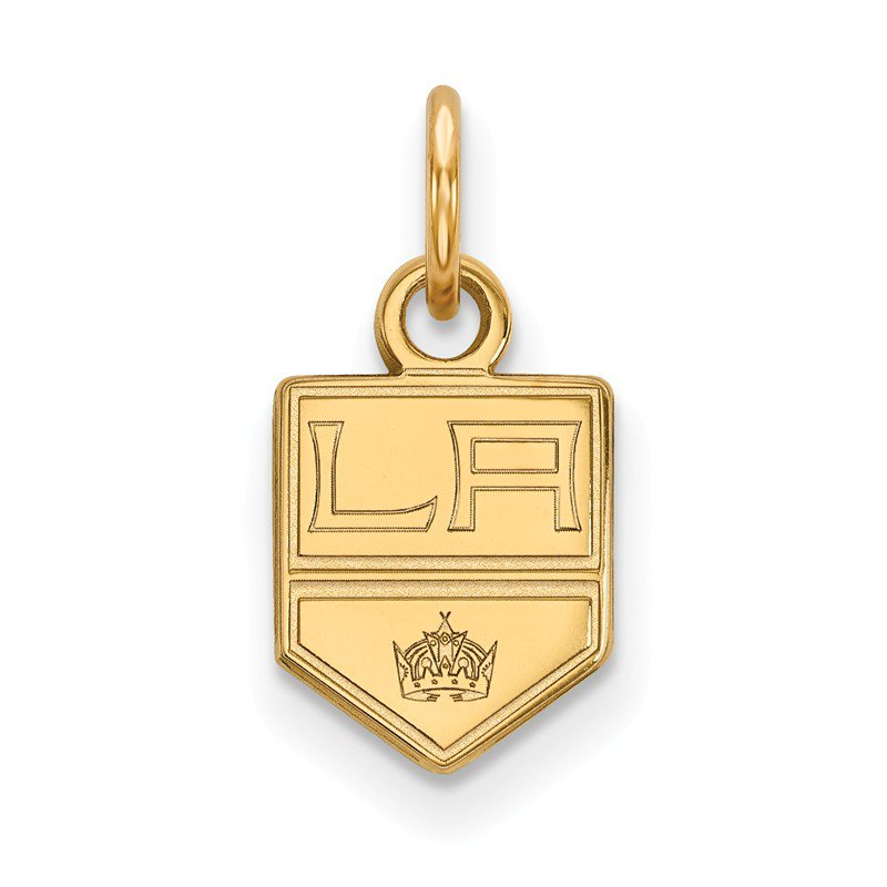 NHL Gold Los Angeles Kings NHL Pendant