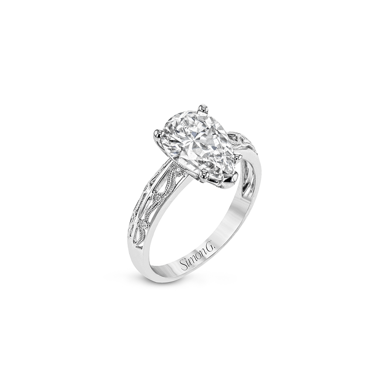 Simon G TR679-PR ENGAGEMENT RING