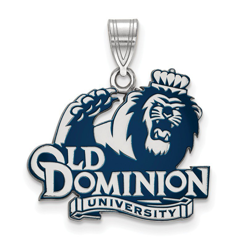 NCAA Sterling Silver Old Dominion University NCAA Pendant