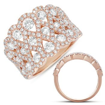 Rose Gold Fashion Ring