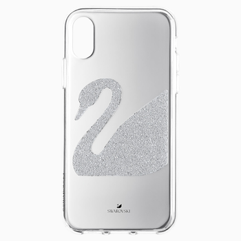 Swan Smartphone Case, iPhone® X/XS, Gray
