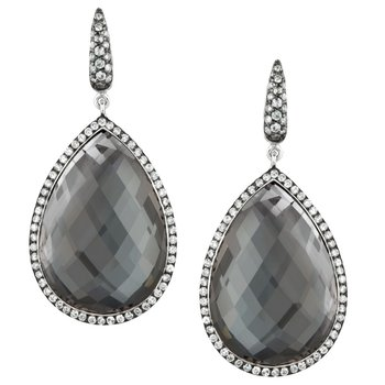 Haute Hematite Fashion Earrings