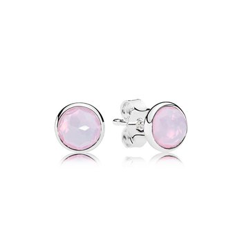 October Droplets, Opalescent Pink Crystal