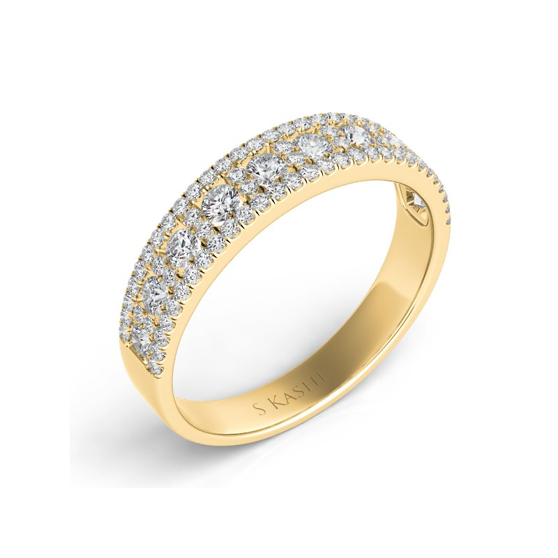 S. Kashi  & Sons Yellow Gold Wedding Band