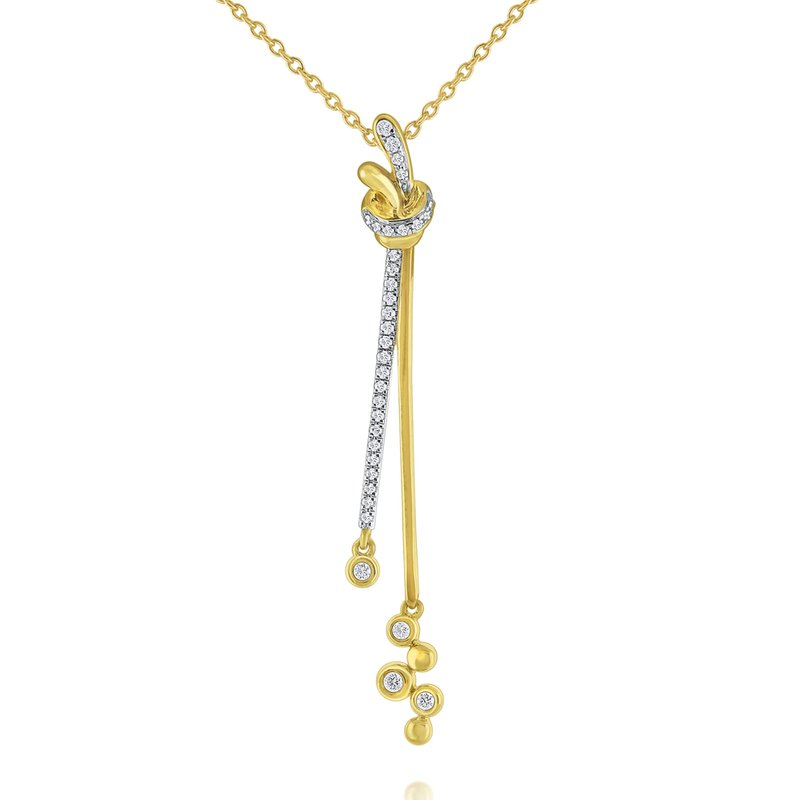 KC Designs 14k Gold and Diamond Bubble Necklace