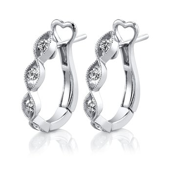 MARS 25765 Fashion Earrings, 0.27 Ctw.