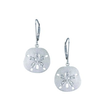 Precious Silver Sanddollar Earrings