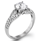 Zeghani ZR1391 ENGAGEMENT RING