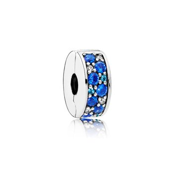 Mosaic Shining Elegance, Multi-Colored Crystals Clear Cz