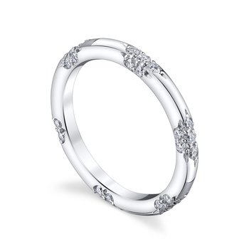 The Petite Crown Lace Band