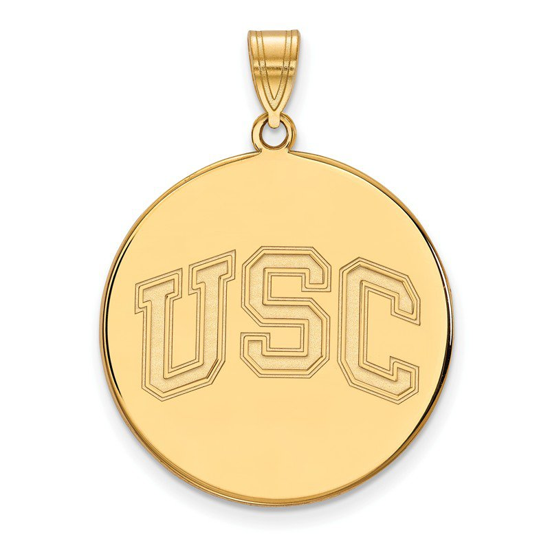 NCAA Gold University of Southern California NCAA Pendant