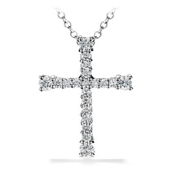 0.5 ctw. Divine Cross Pendant Necklace