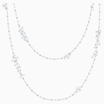 Louison Strandage, White, Rhodium plated