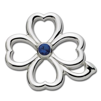 Four Leaf Clover Convertible Clasp-September Birthstone