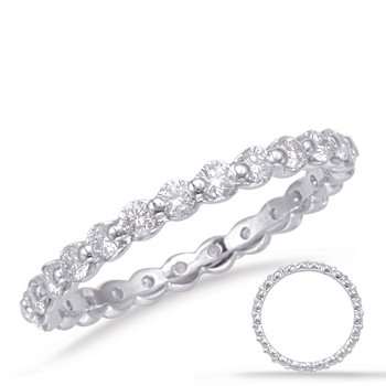 White Gold Eternity Band