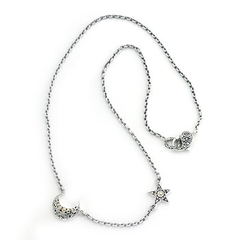 Silver Sky Necklace