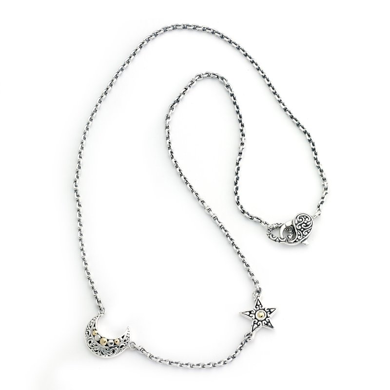 Samuel B Silver Sky Necklace