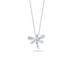 Roberto Coin Dragonfly Pendant With Diamonds