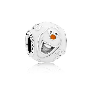 Disney, Olaf Charm, Mixed Enamel