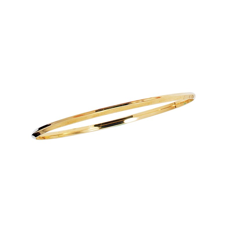 Royal Chain 14K Gold Knife Edge Bangle