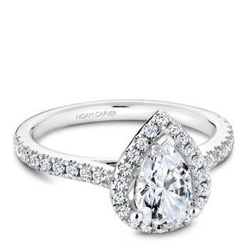Noam Carver Fancy Engagement Ring R050-03A