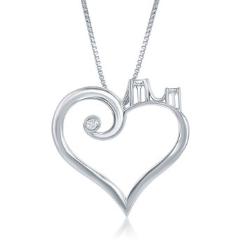 WS - Brooklyn Bridge to Her Heart Necklace