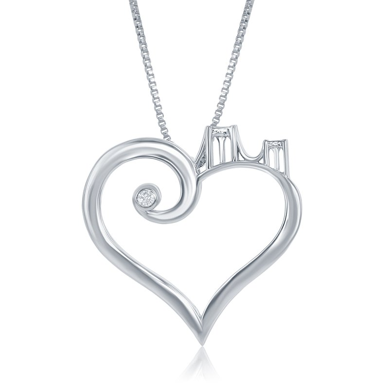 Veer WS - Brooklyn Bridge to Her Heart Necklace