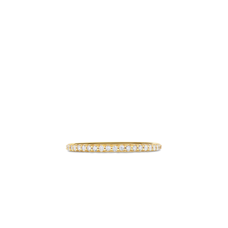 Roberto Coin Eternity Band Ring &Ndash; 18K Yellow Gold, 7