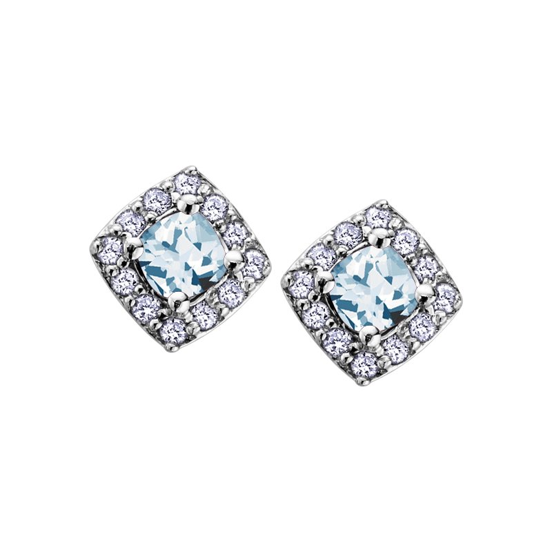 Diamond Days Birthstone & Diamond Earrings