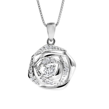 Rose Diamond Pendant
