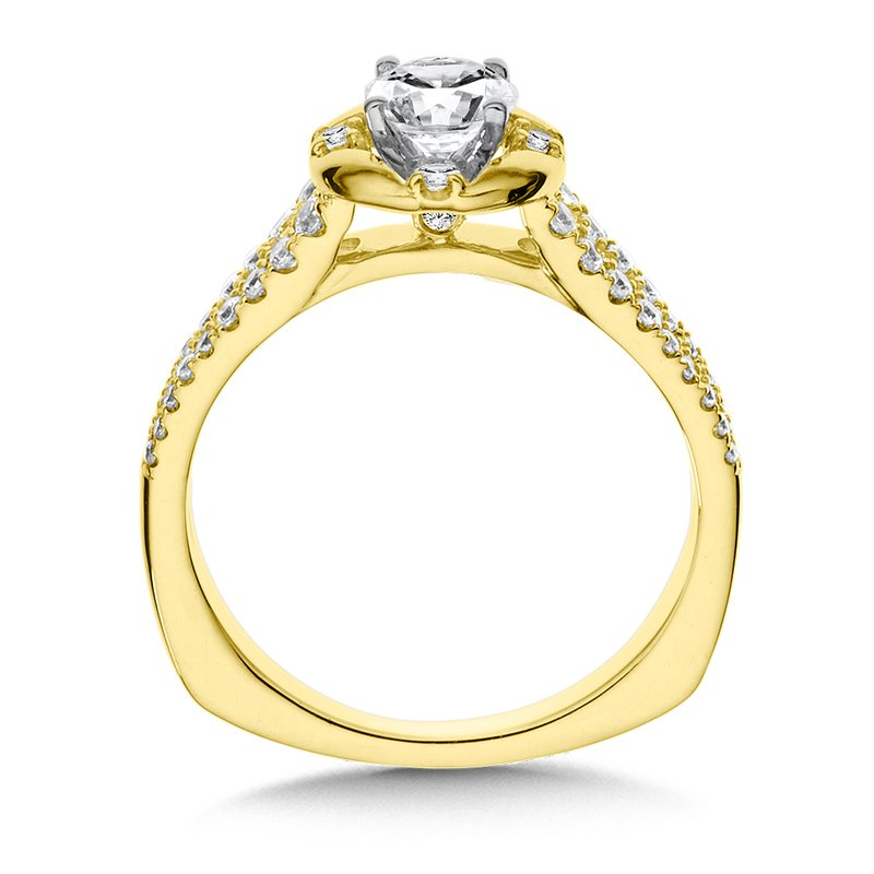 Valina Bridals Diamond Engagement Ring Mounting in 14K Yellow Gold (.30 ct. tw.)