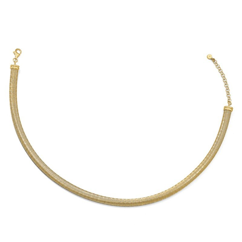 Leslie's Leslie's Sterling Silver Gold-tone with 2in ext. Necklace