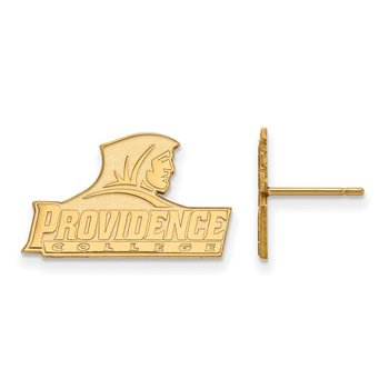 Gold Providence College NCAA Earrings