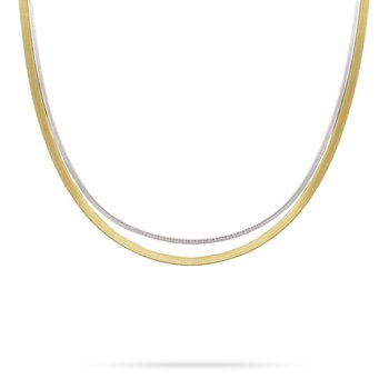 Masai Two Strand Collar Necklace