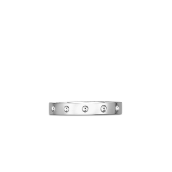 Pois Moi Band Ring &Ndash; 18K White Gold